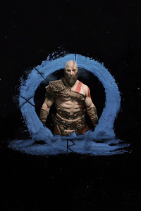720x1280 God Of War Ragnarok 4k