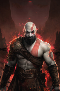 640x1136 God Of War