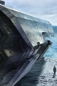 320x480 Godzilla Animated Movie 2017 Concept Art
