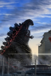480x800 Godzilla Destroyer