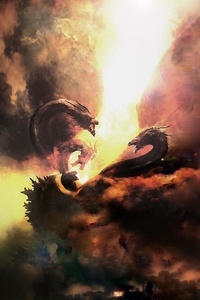480x800 Godzilla King Of The Monsters 2019 Movie