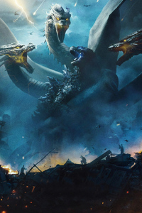 320x480 Godzilla King Of The Monsters 4k 2019