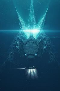 1080x2280 Godzilla King Of The Monsters Art