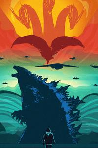 Godzilla King Of The Monsters Arts