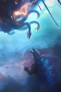 320x568 Godzilla King Of The Monsters Movie Poster