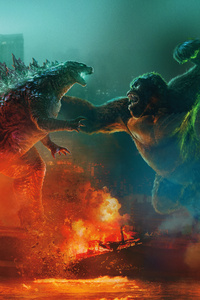 640x960 Godzilla Vs Kong 15k