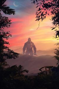 Godzilla Vs Kong Fanmade Poster 4k