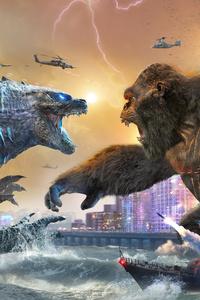 Godzilla Vs Kong Movie 2021 5k