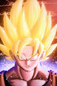 1440x2960 Goku 2020 Hair
