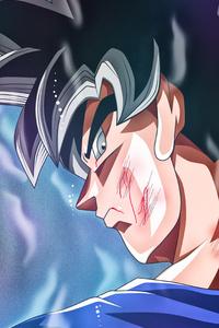 720x1280 Goku 5k Art