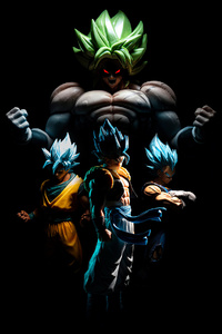 Goku And His Team