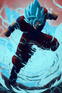 720x1280 Goku Anime 4k