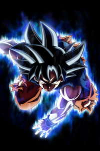480x800 Goku Dragon Ball Super 10k