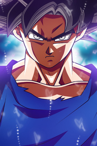 750x1334 Goku Dragon Ball Super 5k 2017