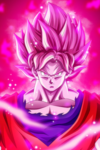 1080x1920 Goku Dragon Ball Super 5k
