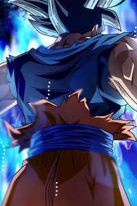 800x1280 Goku Dragon Ball Super 5k Anime