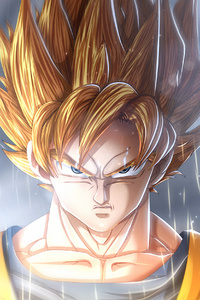 640x1136 Goku Dragon Ball Super Anime Manga