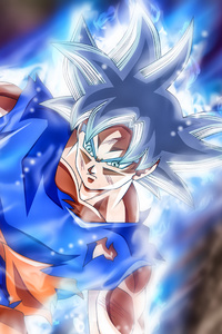 750x1334 Goku Jiren Masterd Ultra Instinct