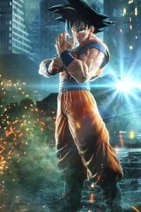 640x1136 Goku Monkey D Luffy Naruto Jump Force 8k