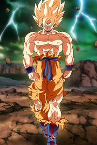 750x1334 Goku Namek