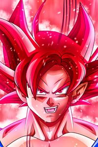 Goku Super Saiyan God 5k