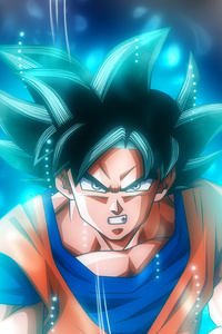 640x1136 Goku Ultra Instinct Dragon Ball 5k