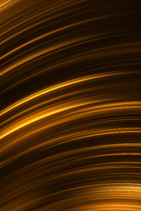 Gold Black Lines 3d Abstract 5k