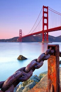 Golden Gate Bridge Coast