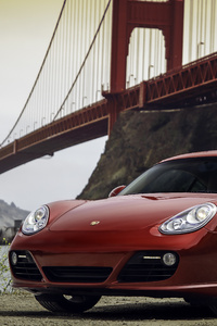 Golden Gate Bridge Porsche 987 Cayman