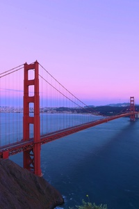 2160x3840 Golden Gate Bridge San Francisco 5k