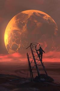 Golden Planet View 4k
