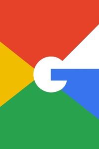 Google Logo Minimalism 4k