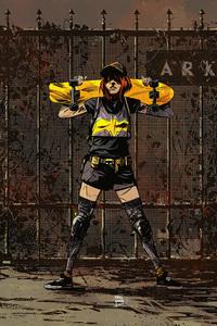 1440x2560 Gordon Batgirl 4k