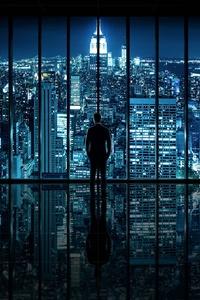 540x960 Gotham City 4k