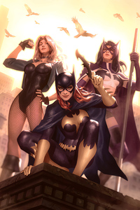 Gotham City Sirens Artwork