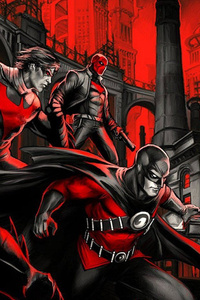 Gotham In Red