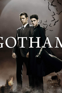 1242x2688 Gotham Season 5 Key Art