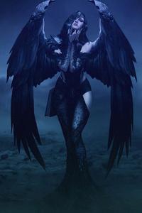 Gothic Angel 4k