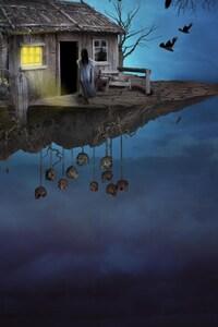 480x854 Gothic Fantasy House