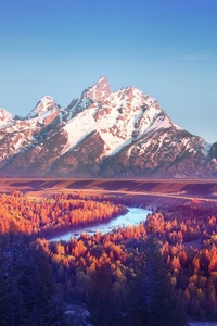Grand Teton National Park 4k