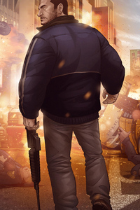 1440x2560 Grand Theft Auto IV Finale