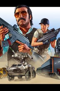 Grand Theft Auto Line Gunrunning