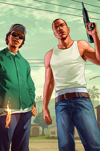 Grand Theft Auto San Andreas Fanart