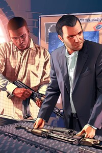 750x1334 Grand Theft Auto V