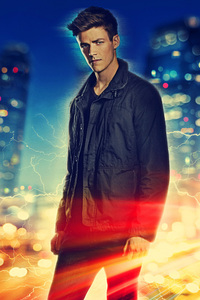 Grant Gustin As Barry Allen In The Flash