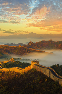 1125x2436 Great Wall Of China 4k