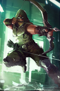 Green Arrow 4k Artwork