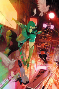 1080x1920 Green Arrow 80th Anniversary 5k