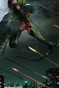 Green Arrow Bow