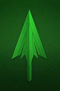 1242x2688 Green Arrow Logo